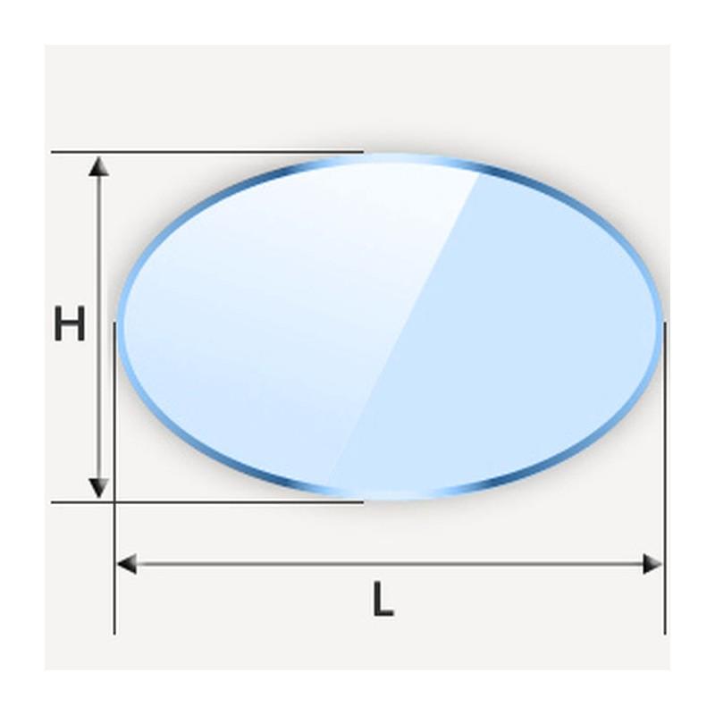 Miroir en ellipse