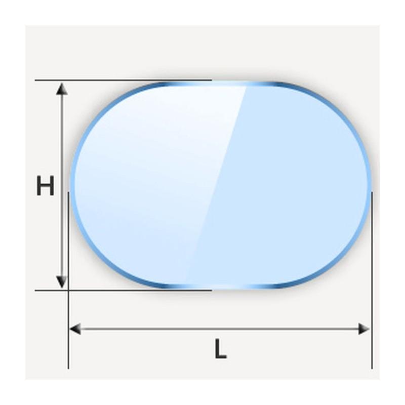 Miroir de forme oblongue