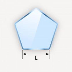Miroir en pentagone
