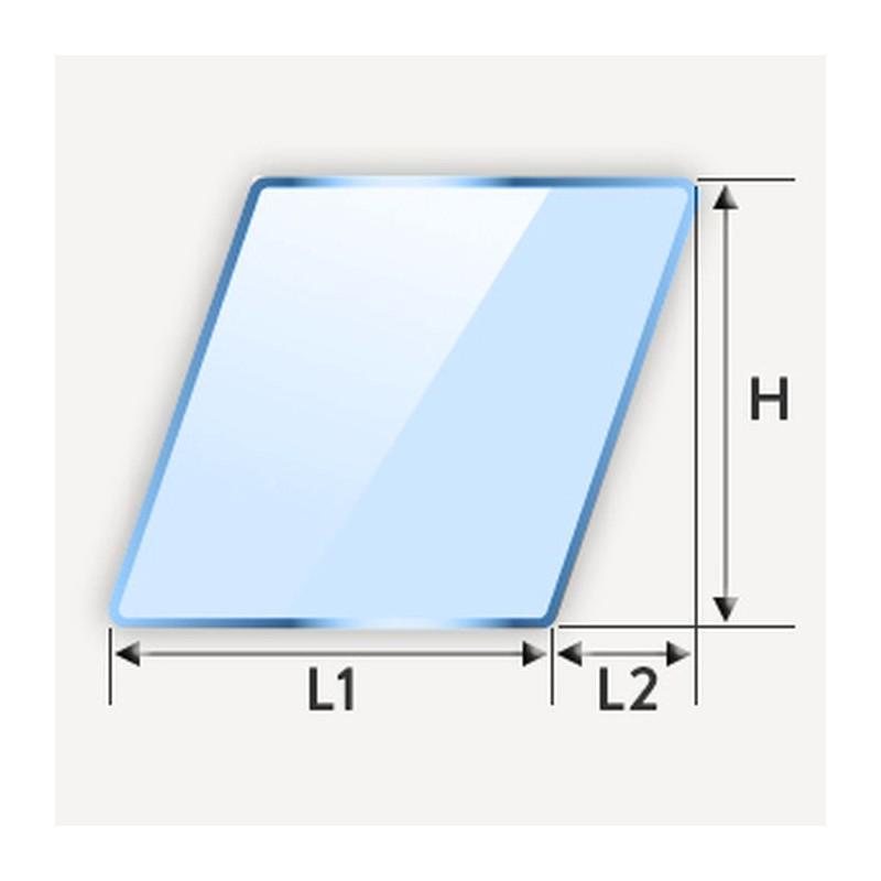 Miroir en parallélogramme