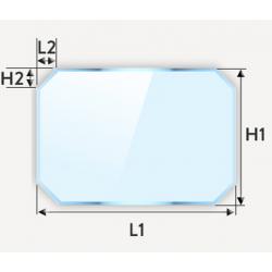 Découpe de verre classique float sur mesure