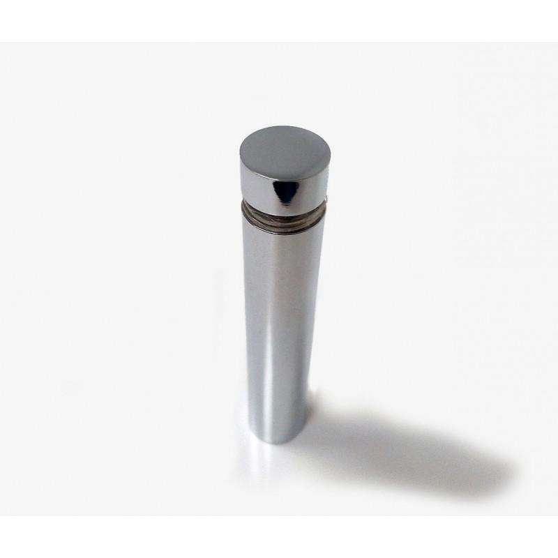 Entretoise en laiton chromé, diam 11mm H60mm