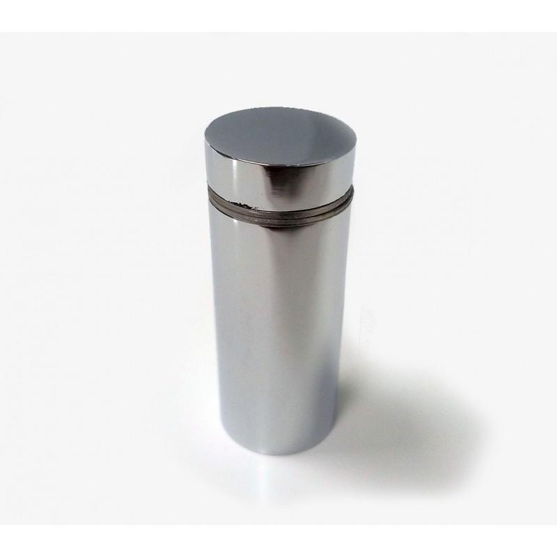 Entretoise en laiton chromé, diam 18mm H40mm