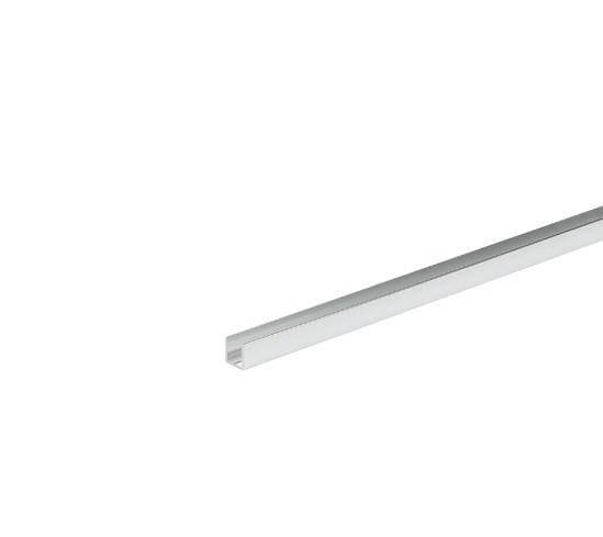 Profilé U alu pour verre de 6mm