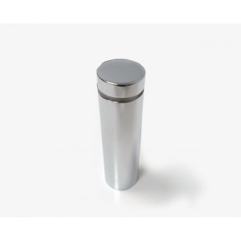 Entretoise en laiton chromé, diam 18mm H60mm