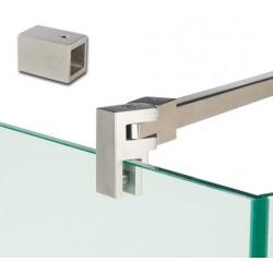 barre raidisseur carré mur-verre