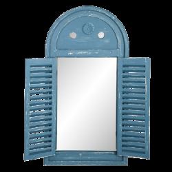 Miroir volet, vert ou bleu