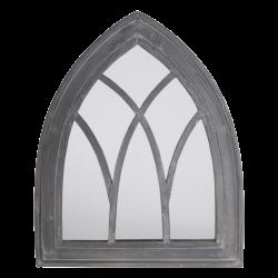 Miroir gothique blanc ou...