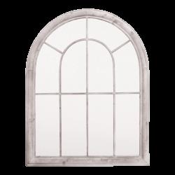 Miroir métal H88 cm