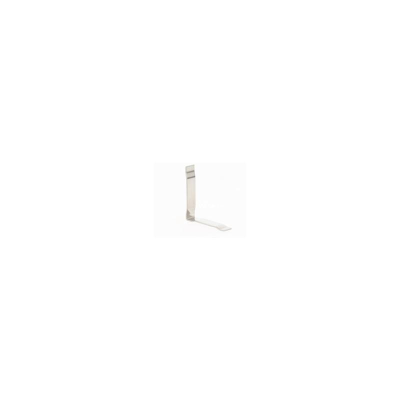 equerre verticale pour profilé de paroi de douche