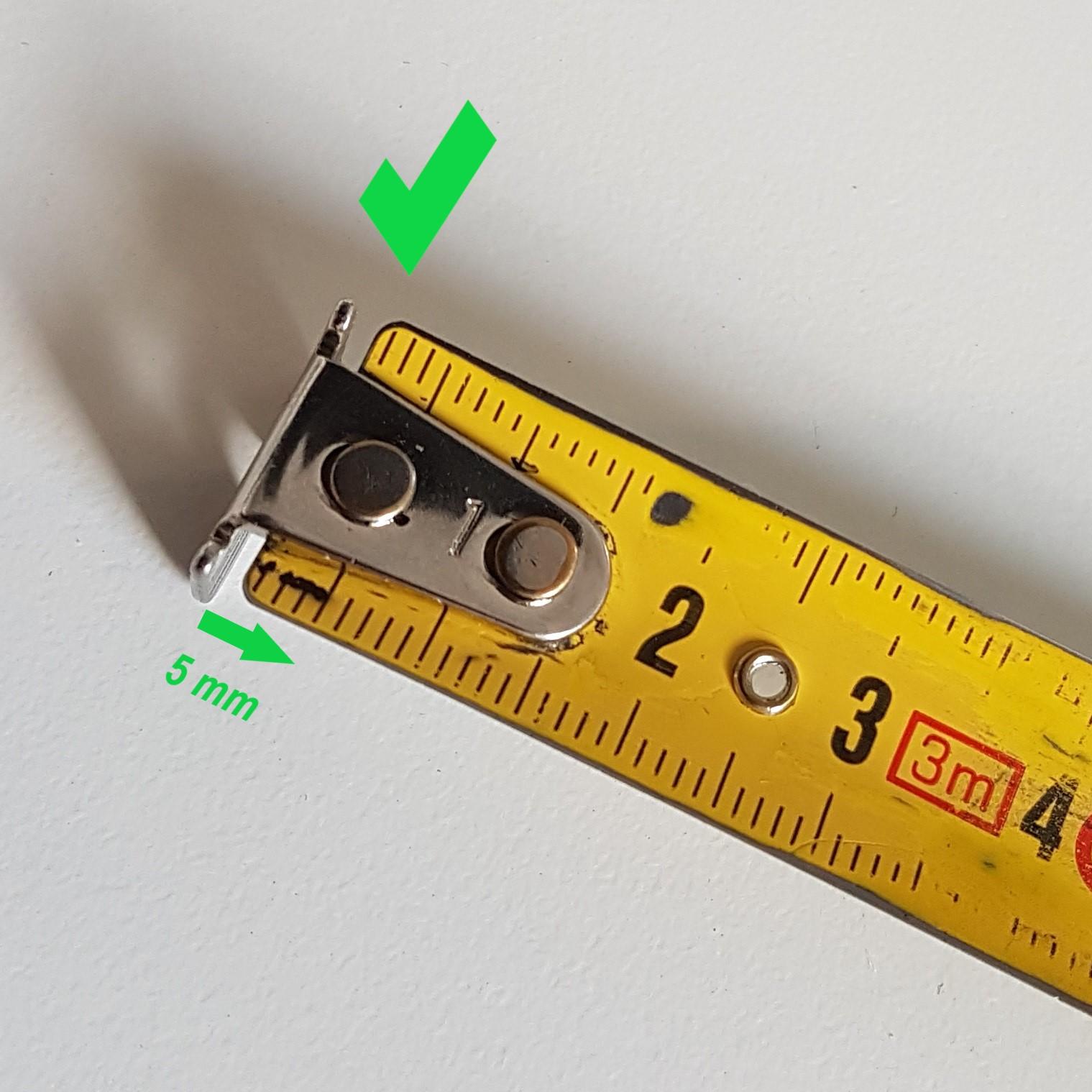 Bonne utilisation du mètre