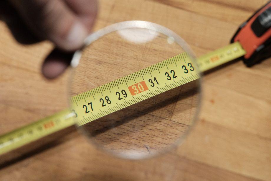 Bien mesurer le verre